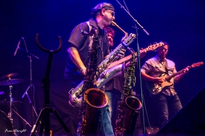 Great shot of Tony's horns